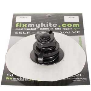 Fixmykite.com Cabrinha Airlock1(& Best) Screw-Cap Small Ersatzventil auf einem 10cm /4inch Tear-Aid Patch