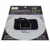 FIXMYKITE.COM Switch 90° One Pump System Ventil (10CM Patch)