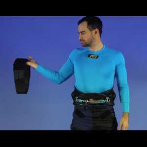 JAY Kiteboarding XTC FTC 2.0 Trapez Ersatzteil: Elastischer Gurt mit Klettverschluss