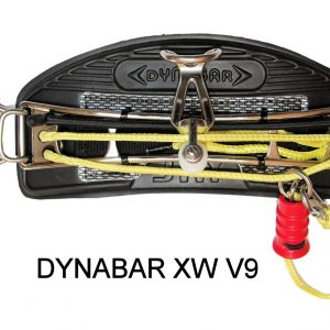 Jay Kiteboarding Dynabar XW V9 Kite Trapez, Gleitbügel spreader bar sliding hook, sliding robe