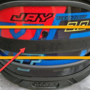 JAY Kiteboarding XTC FTC 2.0 Trapez Ersatzteil: Trapez Spanngurt 38mm