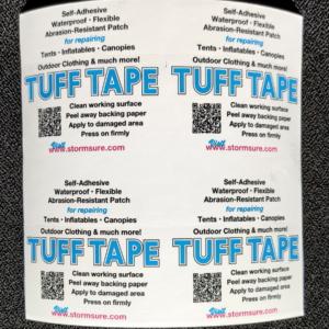 StormSure Tuff Tape Selbstklebend elastisches Reparatur Tape 150×150 mm