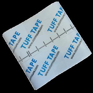 StormSure Tuff 胶带自粘弹性膀胱修复胶带 75 毫米宽和 1 米长